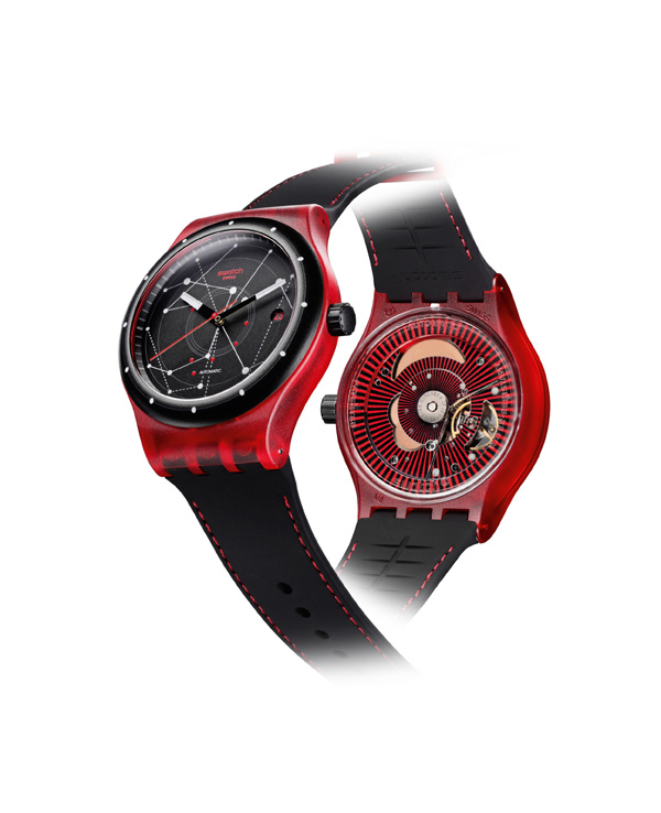 Best of all, this revolutionary new Swatch Sistem51 retails for $150.