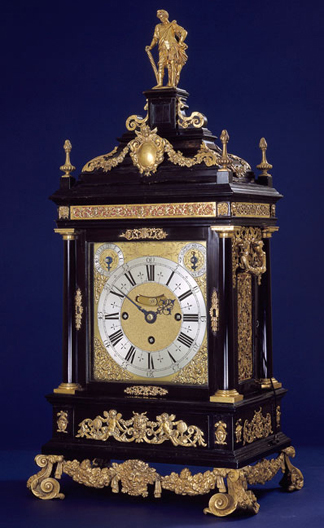 Tompion Table Clock