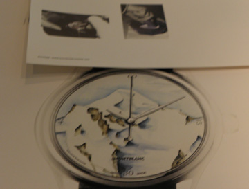 The drawings for the custom-made watches are compiled into a portfolio for the customer.