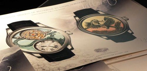 Each drawing reflects the dial to be made in Villeret for the client.
