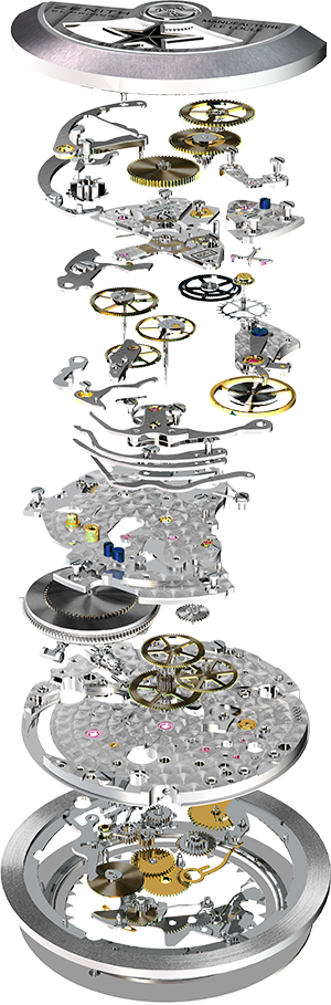 Zenith (owned by LVMH) El Primero movement.