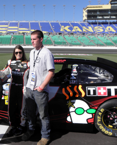 Racing with Tissot: Danica Patrick, Ryan Walsh