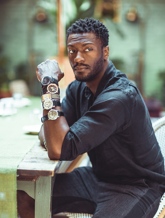 Interview underground actor aldis hodge atimelyperspective for Actor watches