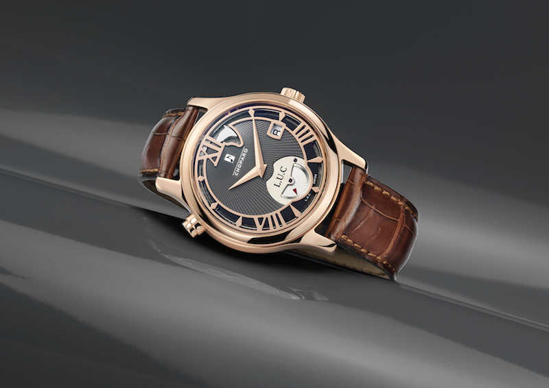 The Chopard L.U.C Strike One in pink gold