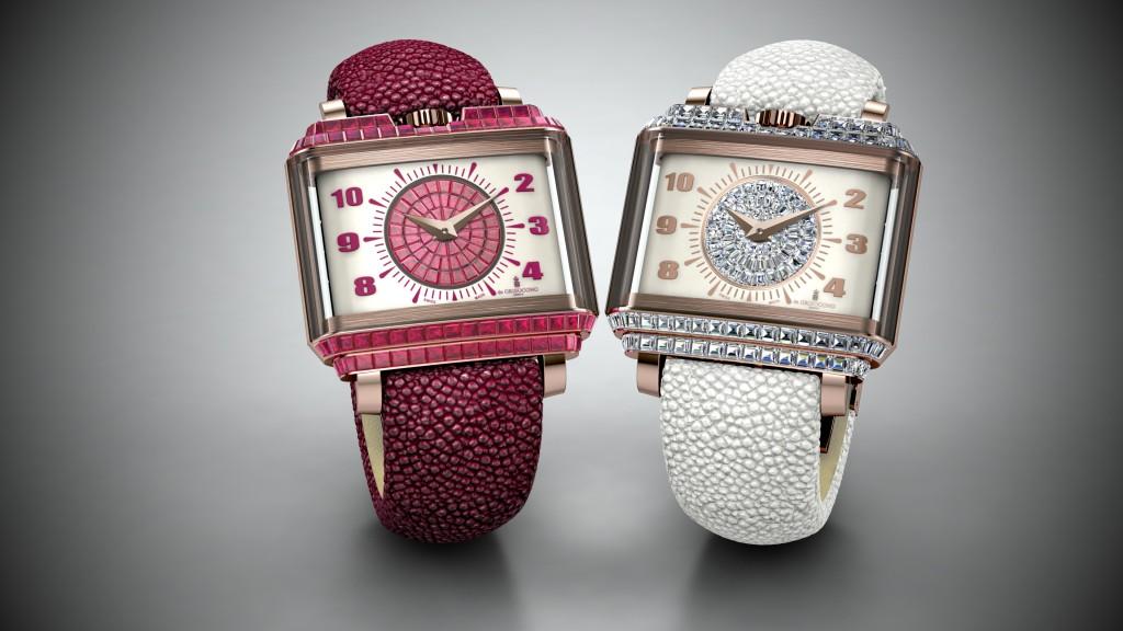 DeGrisogono Retro Ladies Baguette watches