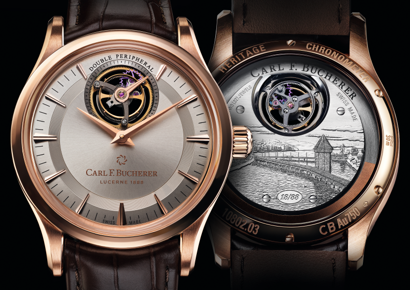 Carl F. Bucherer Heritage Tourbillon Double Peripheral – Limited Edition