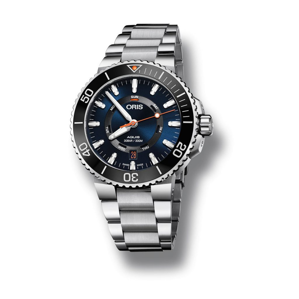 A portion of the proceeds of the sales of Oris Staghorn Restoration Limited Edition watches goes to the Coral Restoration Foundation