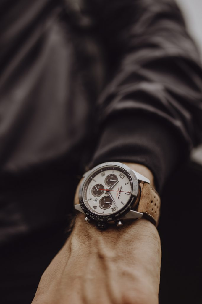 Montblanc Timewalker Limited Edition Manufacture Chronograph with panda dial