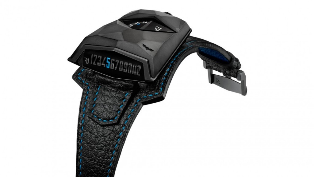 The Spacecraft Batman watch is powered by a movement created for Romain Jerome by Agenhor.