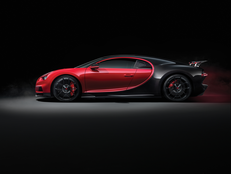 Bugatti Chiron Sport car, custom made for each client.