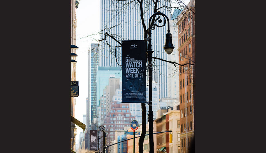 Madison Avenue Watch week 2019
