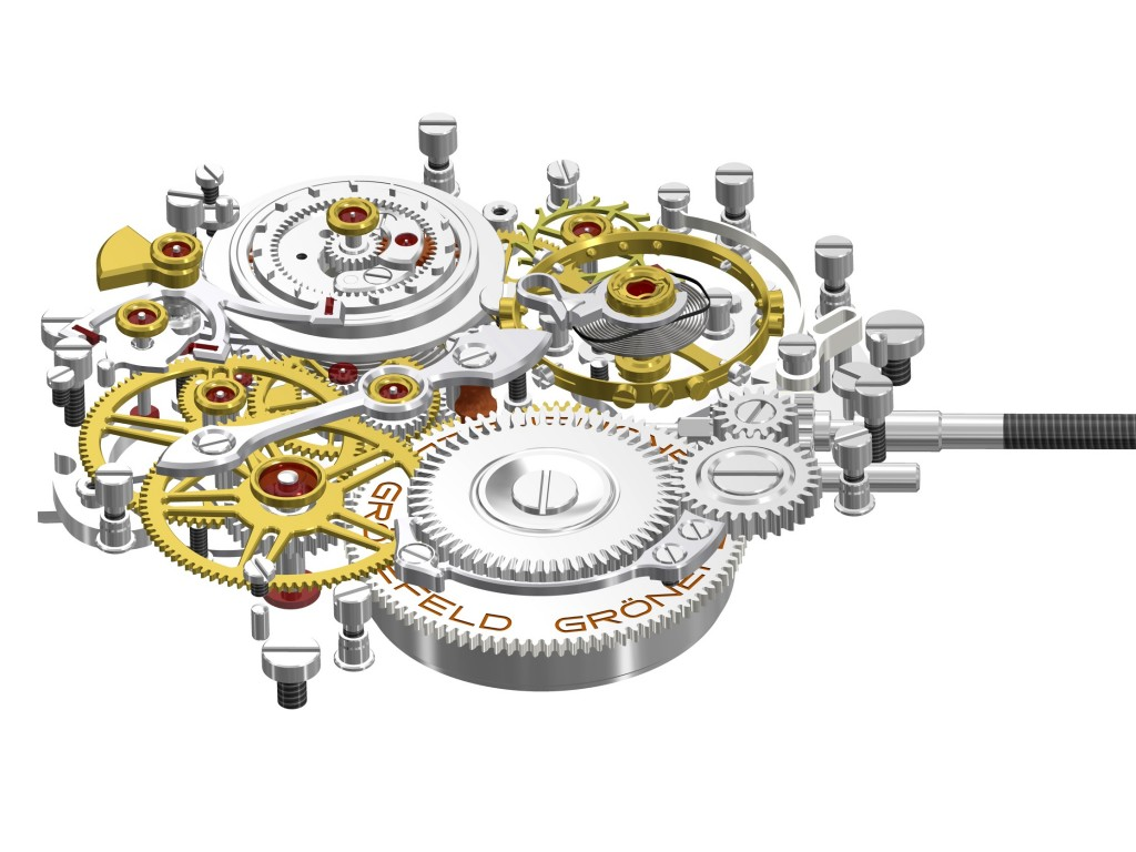 View of the Gronefeld 05 Movement, without bridges