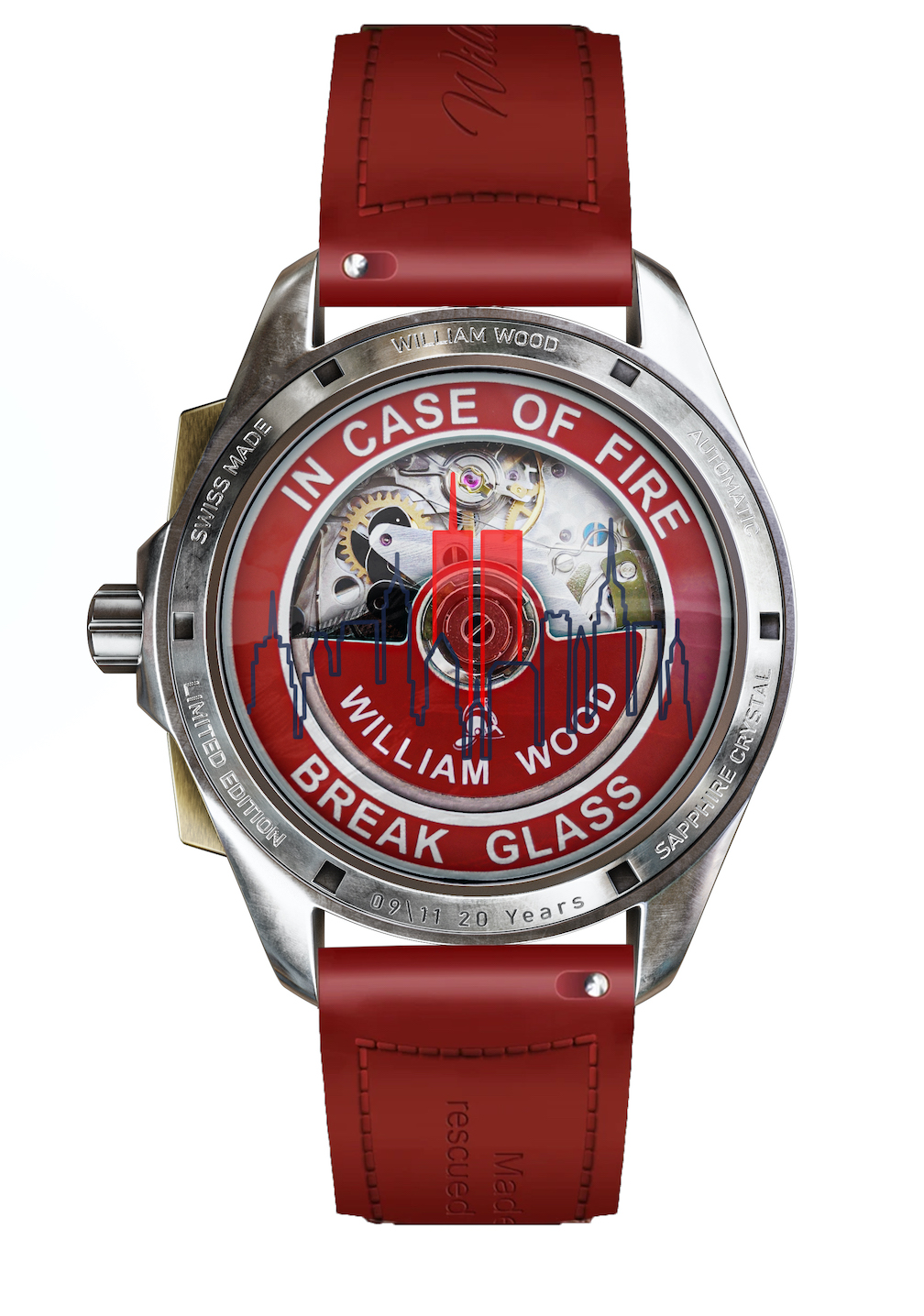 William Wood Time for Heroes watch