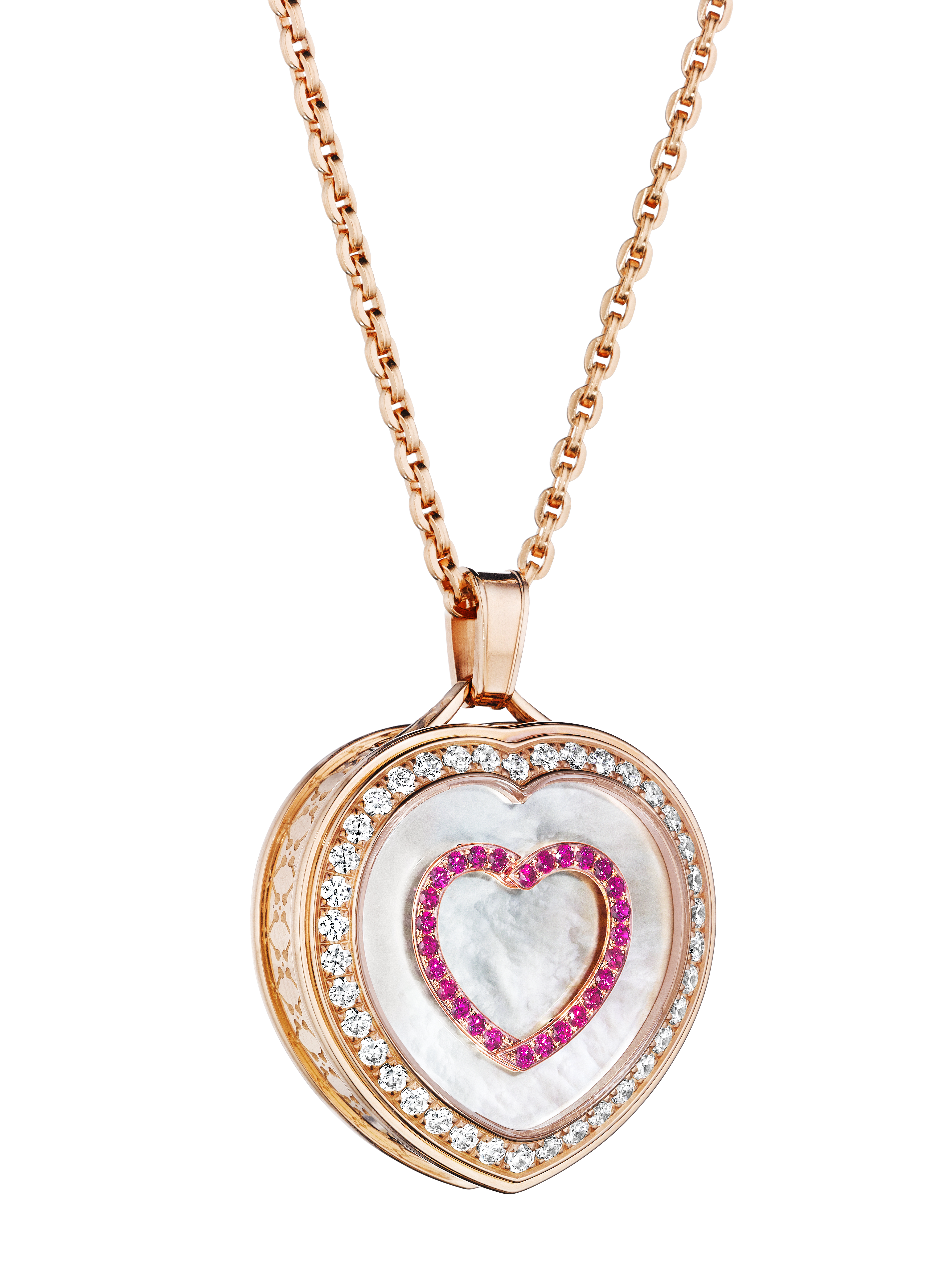 The Paul Forrest & Co. Heart's Passion pendants, with Magnificent Motion technology are Swiss-made with Swiss-made movements.