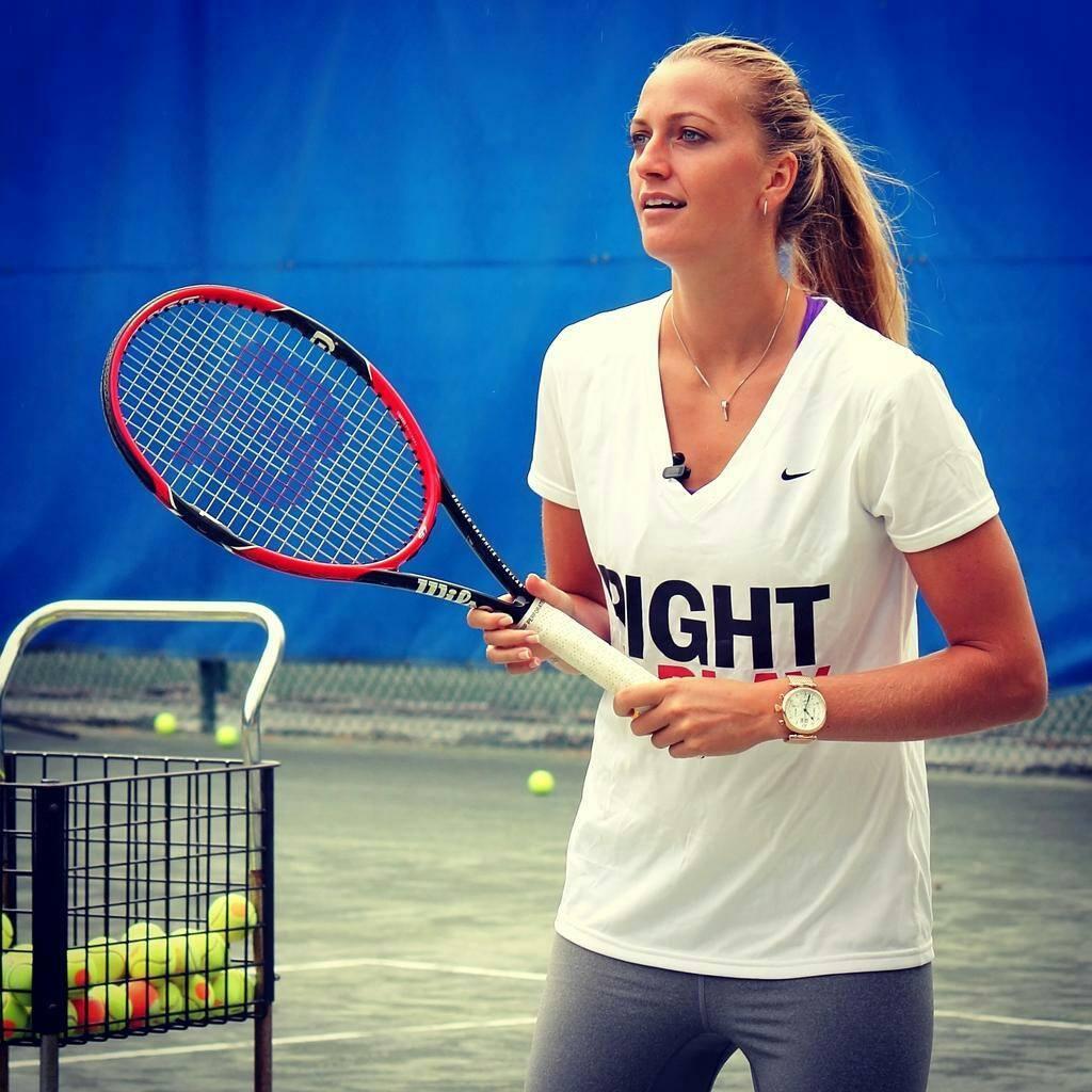 Petra Kvitovic at  the US Open Tennis Championships