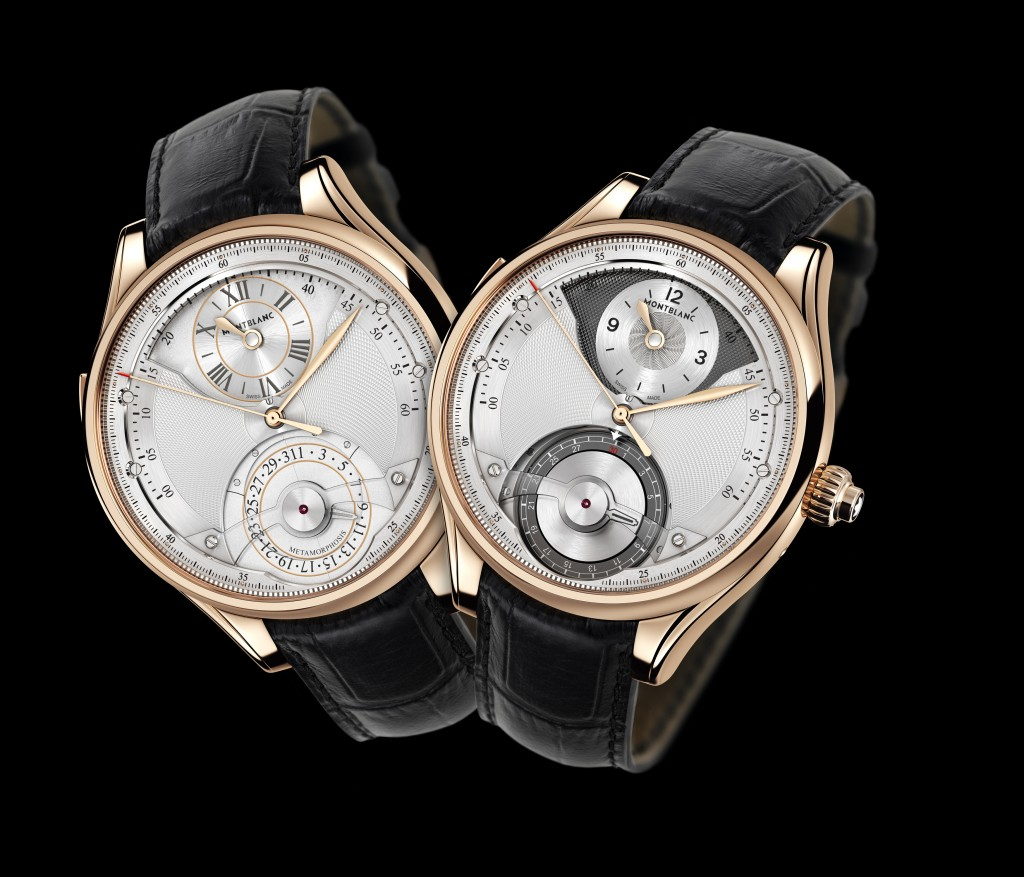 The Montblanc Metamorphosis II is true to its name, transforming dials and functions with the push of a slide.