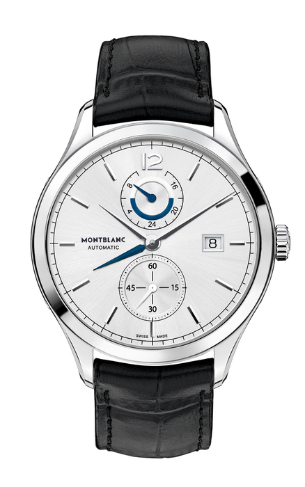 Montblanc Heritage Chronometrie Dual Time Zone watch - worn by Ruffalo