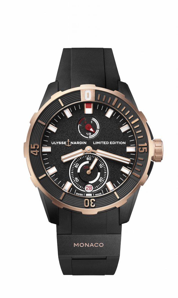 Ulysse Nardin Limited Edition Monaco Diver Chronometer.