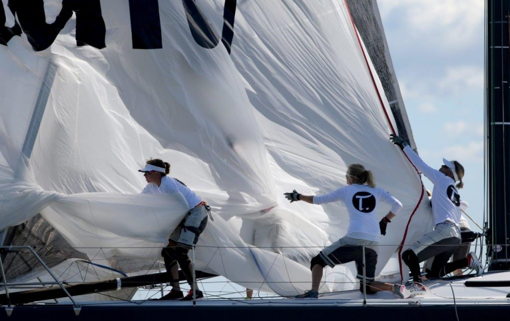 Tutima Racing Yacht with an all-female team is competing in Northern Europe now.