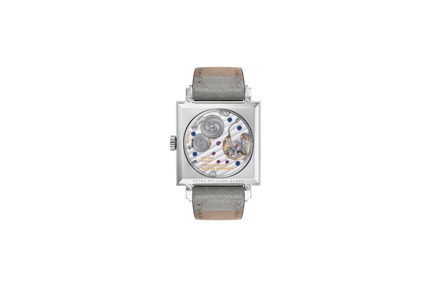 Nomos Tetra Plum watch