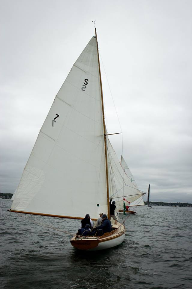 On Narragansett Bay during New York Yacht Club opening weekend (Photo Courtesy New York Yacht Club Regattas)