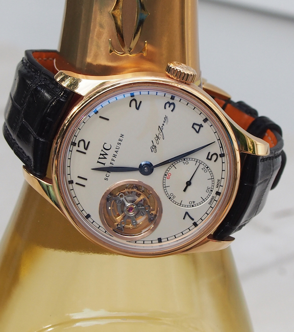 The watch is a USA exclusive and features the signature of the founder, Ferdinand Ariosto Jones.