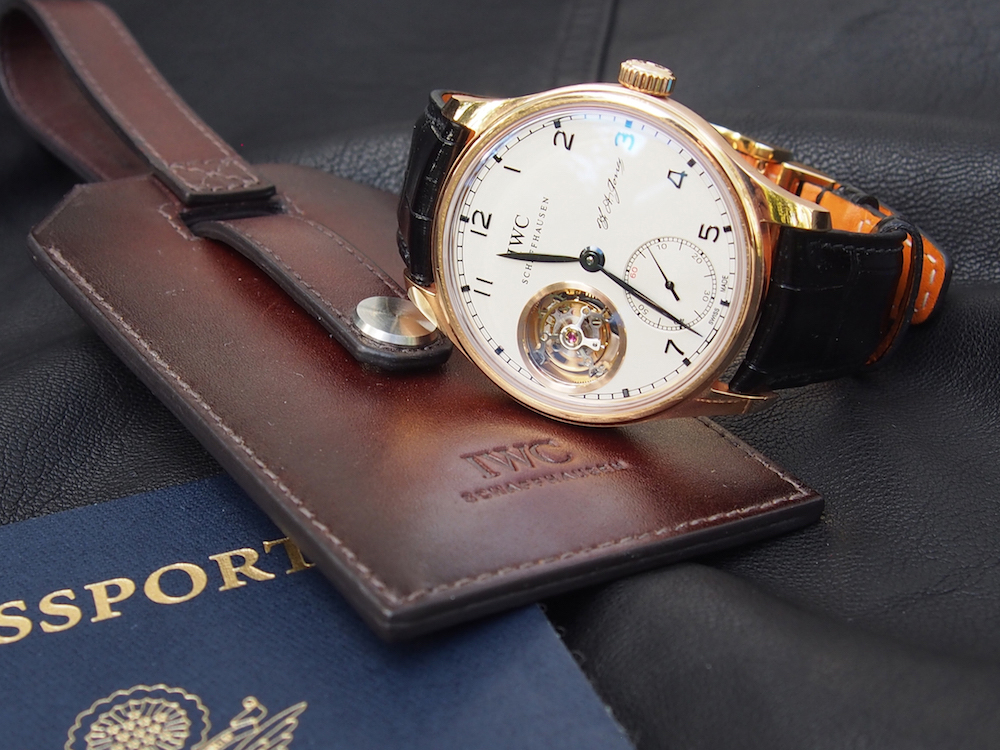 IWC Portugieser Tourbillon Hand-Wound D.H. Craig watch
