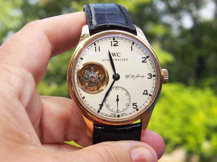 Just 27 pieces of the IWC Portugieser Tourbillon Hand Wound D.H. Craig.