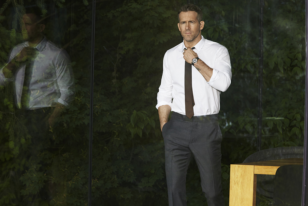 Piaget brand ambassador Ryan Reynolds will help launch the new Piaget Altiplano Ultimate Automatic watch.