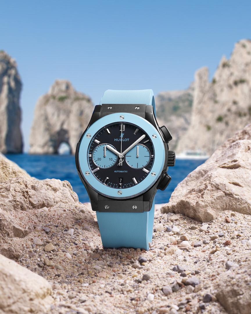 Hublot Classic Fusion Chronograph Special Edition Capri
