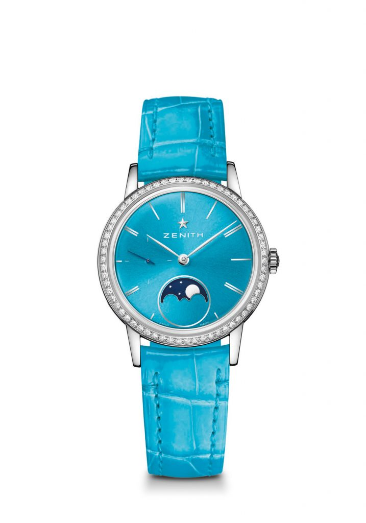 The Zenith Elite Lady Moonphase watches retail for $7,100.