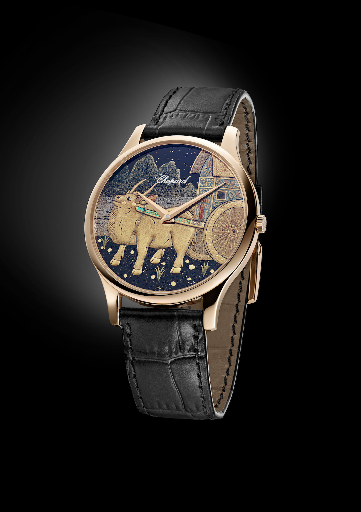 Chopard L.U.C XP Urushi Year of the Ox watch.