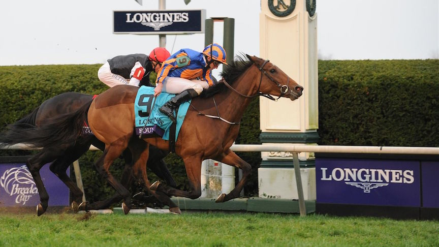 Longines is the Official Timekeeper of the Breeders' Cup World Championships this weekend in San Diego.