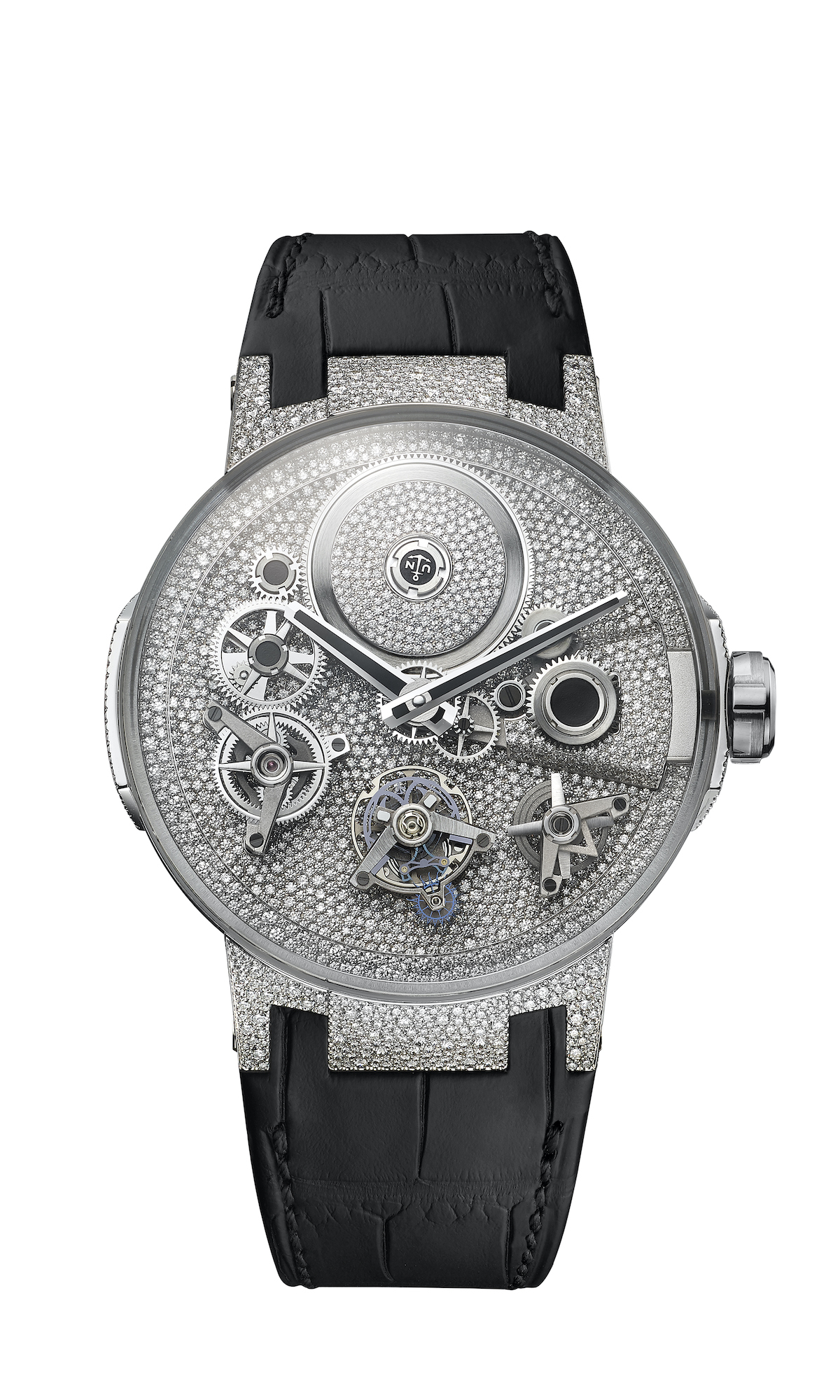 Ulysse Nardin Sparkling Free Wheel watch