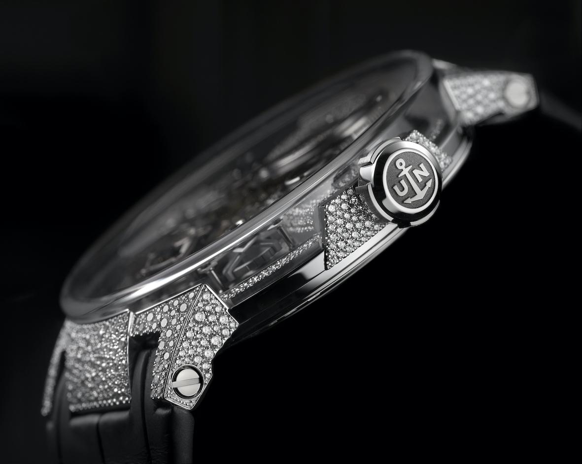 Ulysse Nardin Sparkling Free Wheel watch