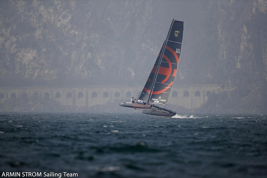 Armin Strom Sailing Team in GC32 Tour (photo: courtesy of Armin Strom Sailing)