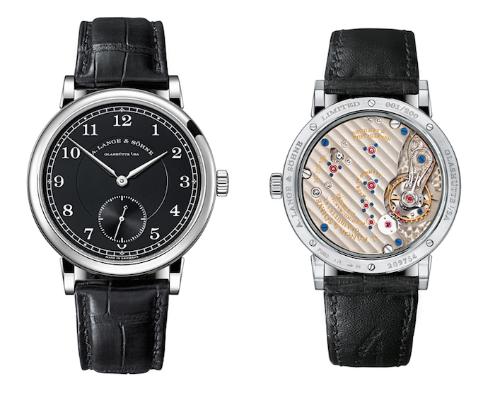 1815 200 Anniversary Watch with three-quarter plate.