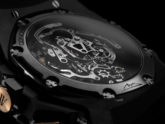 The watch was five years in the making and has a patent pending