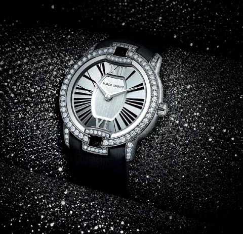 The Roger Dubuis Velvet collection for women has become a prime seller for the brand.