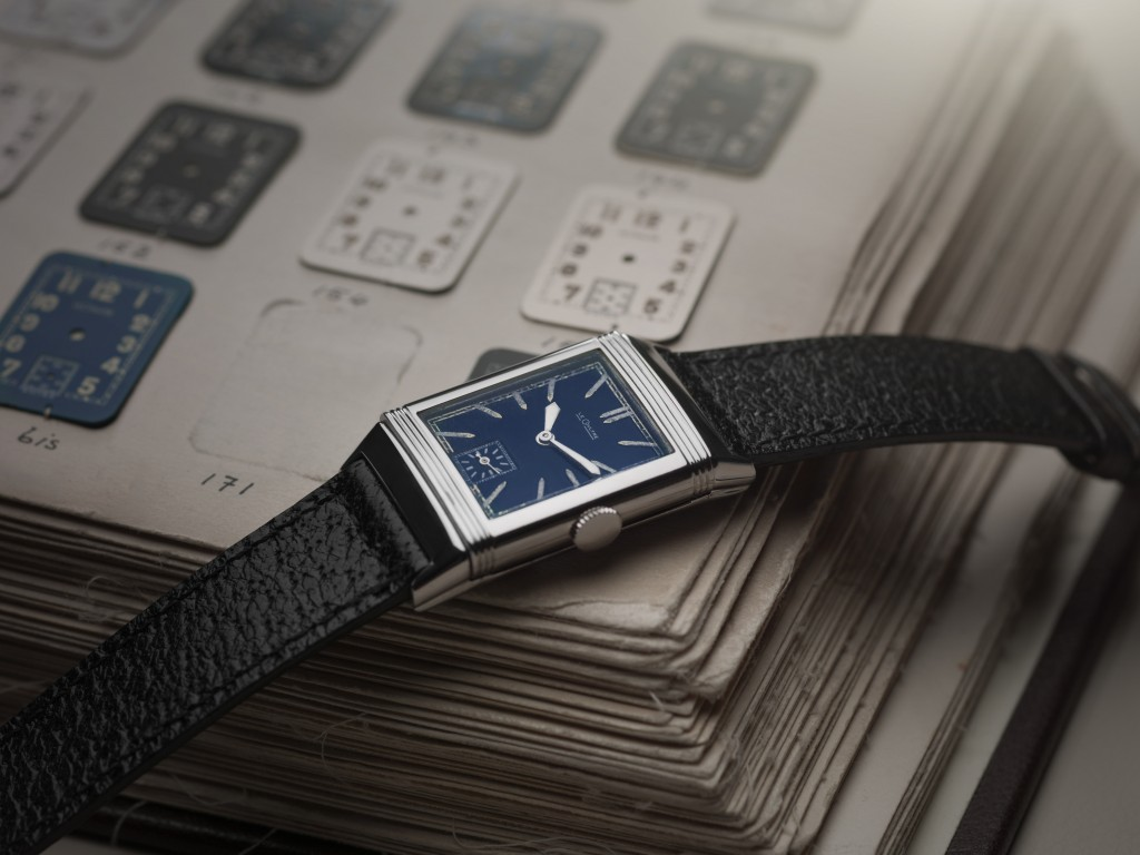 1933 Reverso with blue lacquer dial
