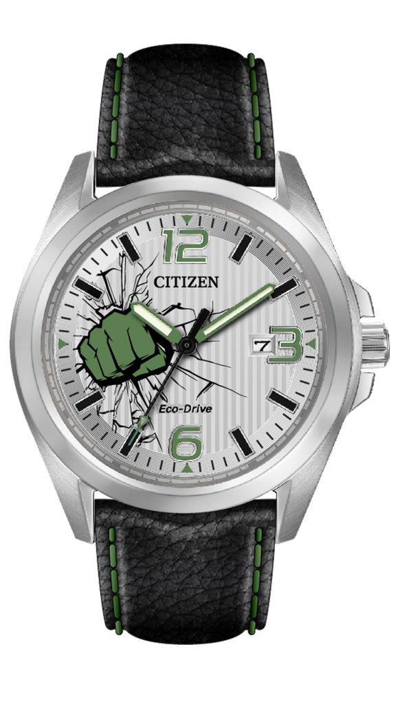 Citizen Marvel The Hulk watch, $225.