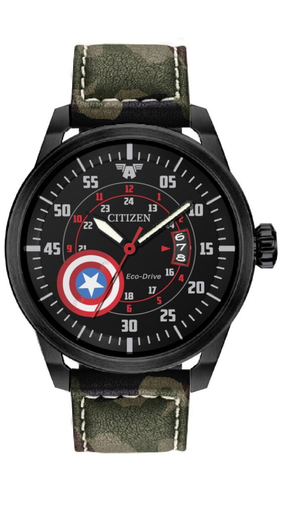 Citizen Marvel Captain America watch, $295.