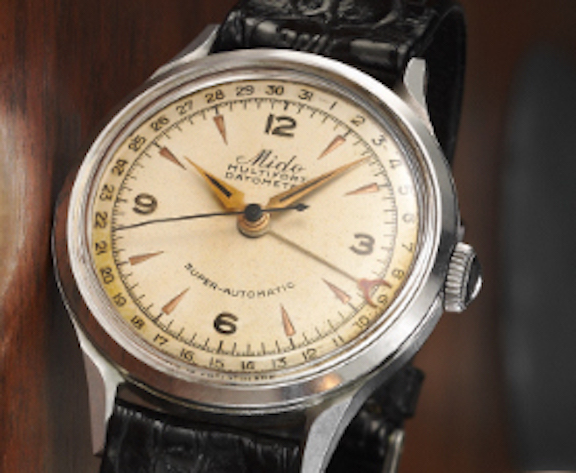 The new Mido Multifort Datometer is based on this 1939 model.