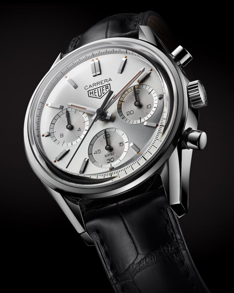 TAG Heuer Carrera Silver 160 Years Limited Edition watch