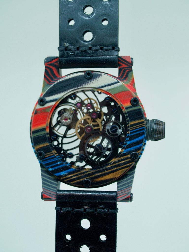 Paolo Mathai Horology Kaeleidscopic watch