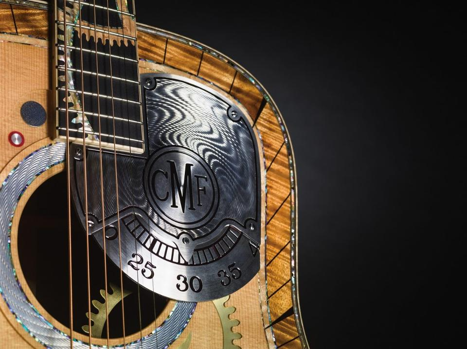 The project showcases the amazing craftsmanship of both RGM watches and Martin Guitars