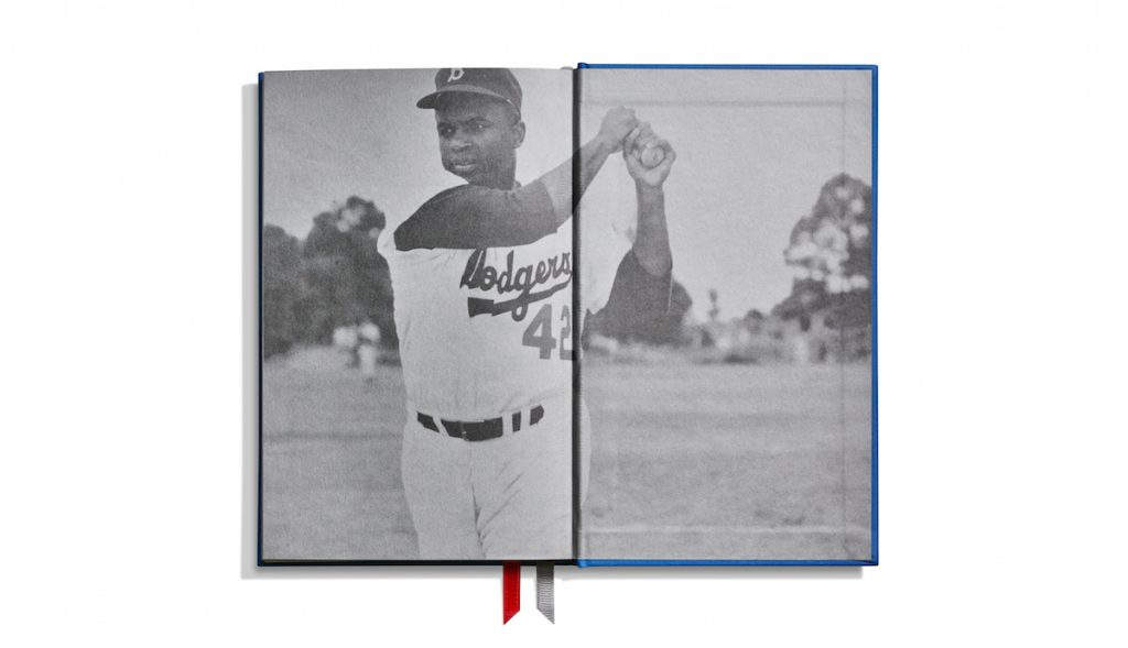 The Shinola Jackie Robinson watch is sold as part of gift set.