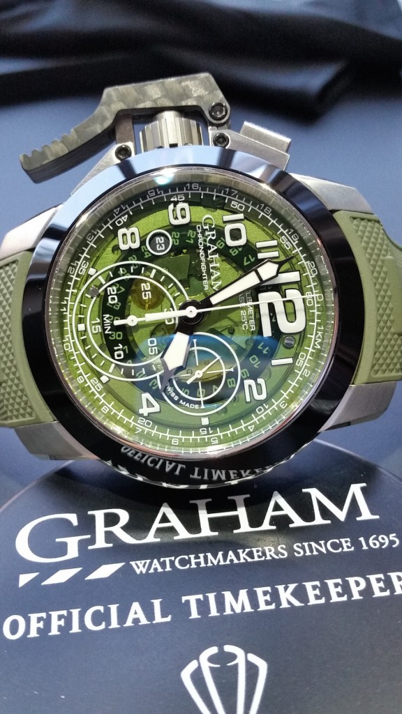 Graham Chronofighter Oversize (photo by Lisa Delane)