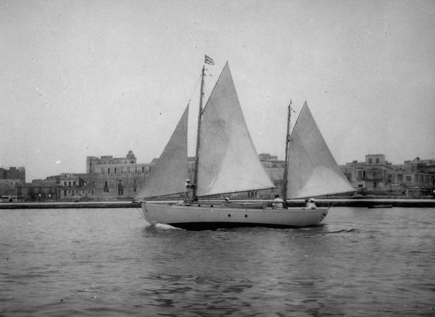 Some of the finest yachts of the 1920's sailed the St. Petersburg-Habana regatta.