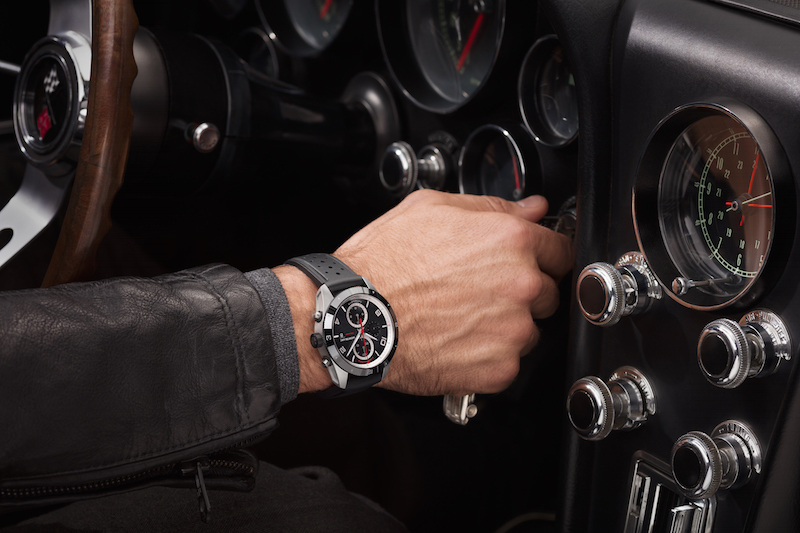 The Montblanc TimeWalker Chronograph Rally Timer Counter is being issued in a limited edition of 100 pieces.